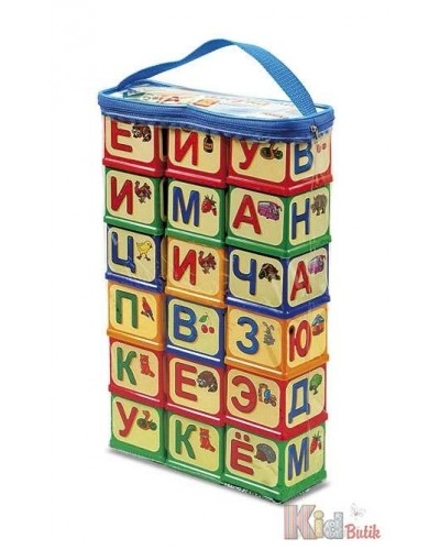 "Кубики ""Азбука "" арт.620"