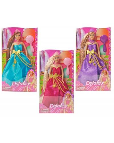 "Кукла ""Defa Lucy"" 8195 принцесса с аксессуар., в коробке7*3,5*29см"