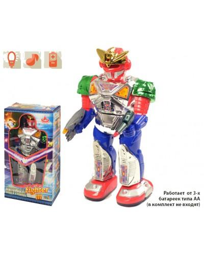 Робот на батар. 28035 (77673) ходит, говорит, в кор. 15*27,5*8,5см