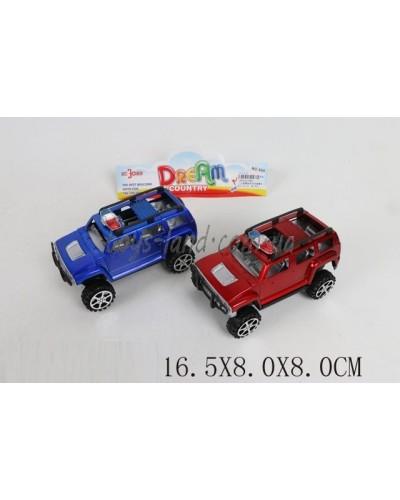 Машина инерц. 999 (1562425) 2 цвета, в пакете 16*8*8см