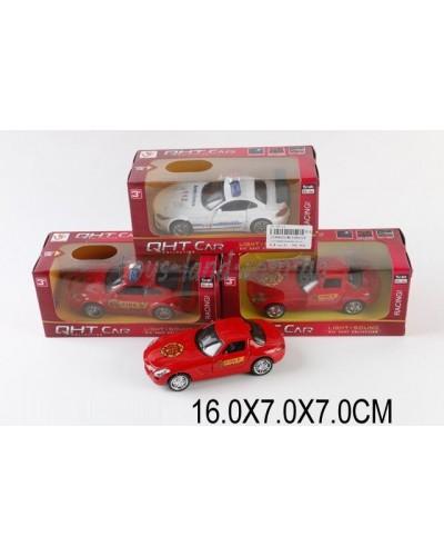 Машина металл ML53601LF (1530823) М1:32,свет,звук,pull back,3цвета,в коробке 16*7*7см