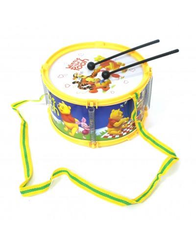 """Барабан 6610-11 """"Винни Пух"""" в пакете 17*10см"""