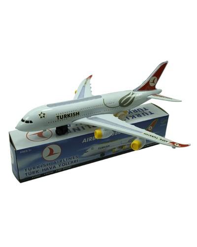 Самолет батар. 616-TK свет, звук, в коробке 34,5*7*7,5см