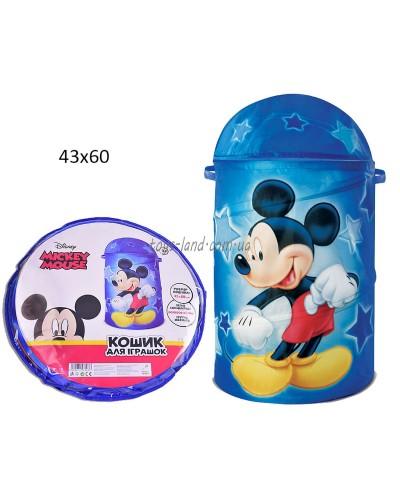 Корзина для игрушек D-3503  Mickey Mouse в сумке ,43*60 см