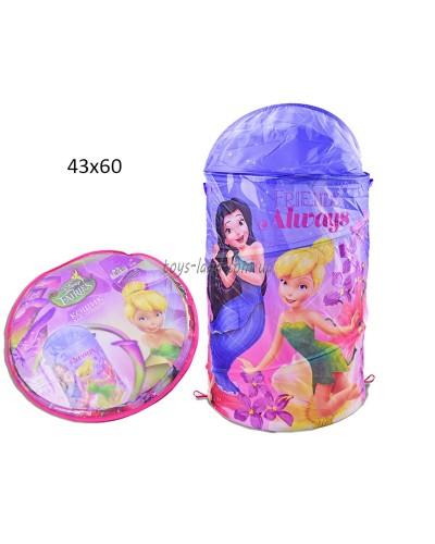 Корзина для игрушек D-3504   Fairies в сумке ,43*60 см