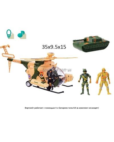 Вертолет батар 286-7 в коробке 35*9,5*15см