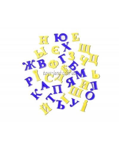 """Буквы магнитные KI-7000  """"Украинский алфавит"""",в пакете 15*13см"""