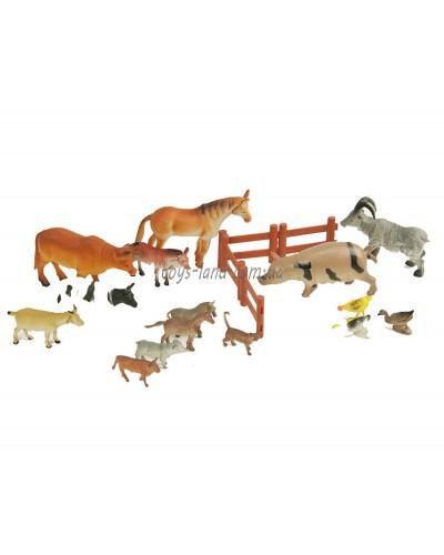 Животные H639-1/2 (H639)  домашние, в пакете 23*32см