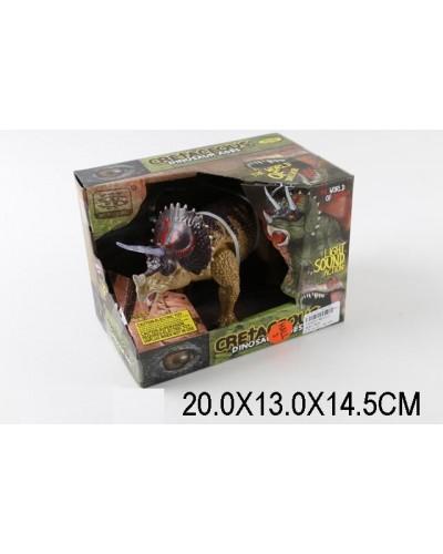 Животное WS5315 (1424257) Динозавр,батар,в кор.20*13*14,5см