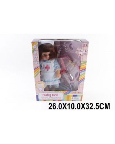Кукла муз MS13002/1(1515554) батар, медсестра, с мед ин-тами, в кор.26*10*32