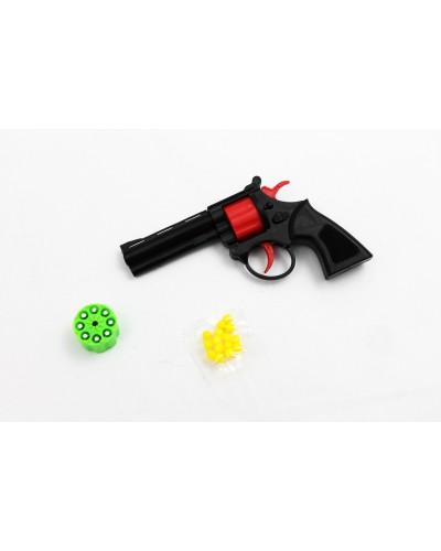 Пистолет 009-1 2 вида, с пулями, в пакете