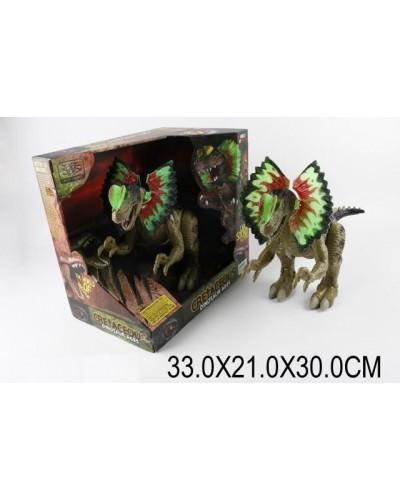 Животное WS5310 Динозавр, батар, свет, звук, в кор.33*21*30см