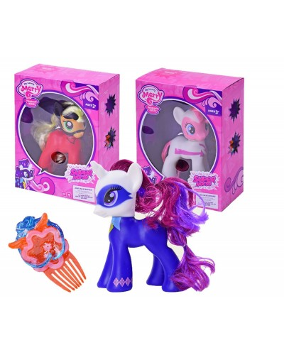 "Пони ""My Little Pony Power Ponies"" 88278/80/82 3 вида, свет, звук, в кор.19,5*9*24,5см"