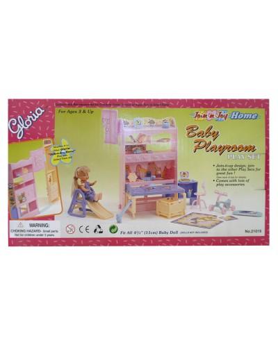 """Мебель """"Gloria"""" 21019 для детской, в кор.16,5*29*6см"""