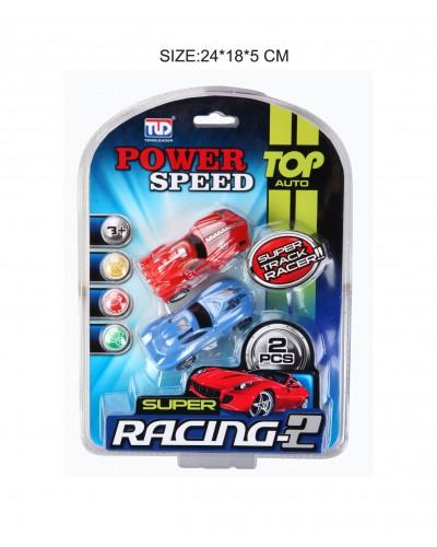 """Машинка """"Power Speed"""" арт.68818 24*18.5 см 2шт на планшетке"""
