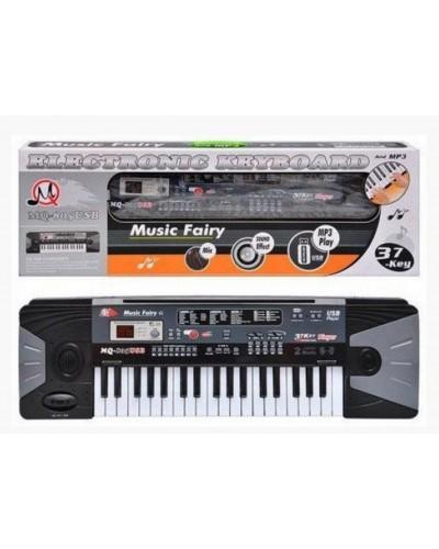 Орган MQ-805USB батар., с микрофоном, USB-порт, 37клавиш, в кор. 70*23*9см