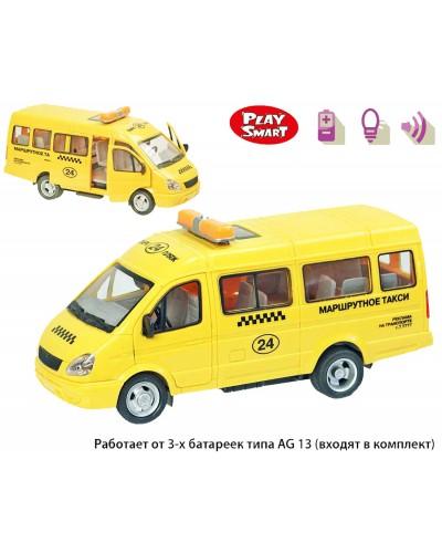 """Машина батар 9098-E серия""""Автопарк"""",откр.двери, звук,свет фар,в кор. 22,5*12*12,5см"""