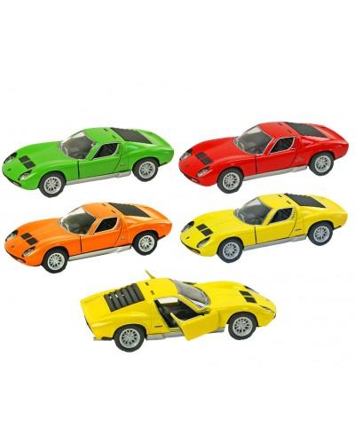 "Машина металл ""KINSMART"" KT5390W  ""Lamborghini Miura P400 SV"" в коробке 16*8*7,5см"