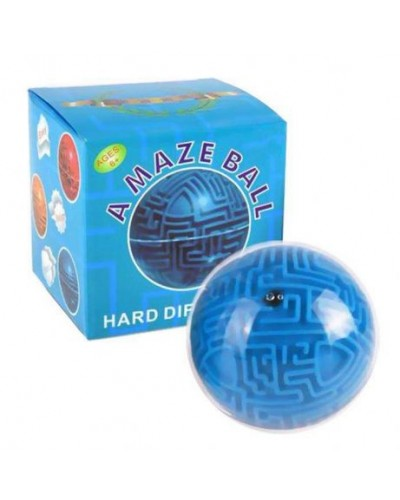 Головоломка 3D-лабиринт 71-04 шар в коробке 11 см