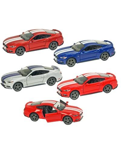 "Машина металл ""KINSMART"" KT5386WF  ""2015 FORD MUSTANG GT"", в коробке 16*8*7,5см"
