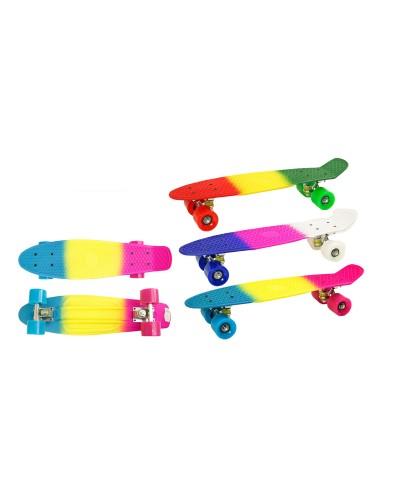 Скейт KS01 PU колеса, 2 цвета,56*15см