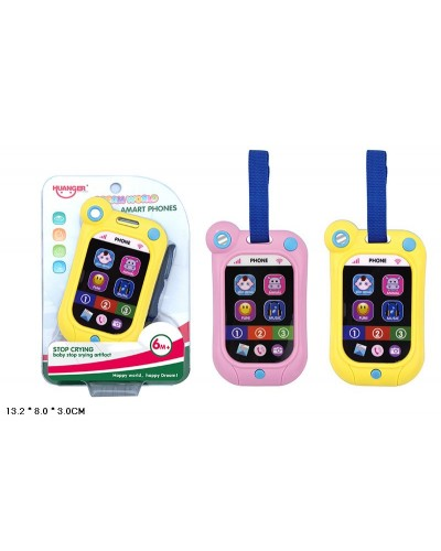 "Музыкальная игрушка 789-1 батар,""Телефон"", мелодии, звуки,на планшетке13,2*8*3см"