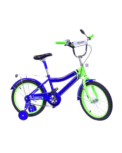 Велосипед 2-х колес 18'' 171833 со звонком, зеркалом, руч.тормоз