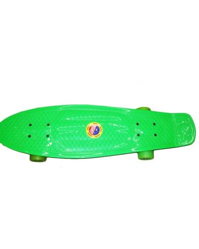 Скейт 3108 колёса PU 5,5см, 68*20см