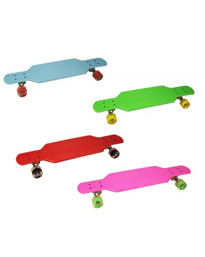 Скейт YW0152 металл. крепление, колеса PU 73 см