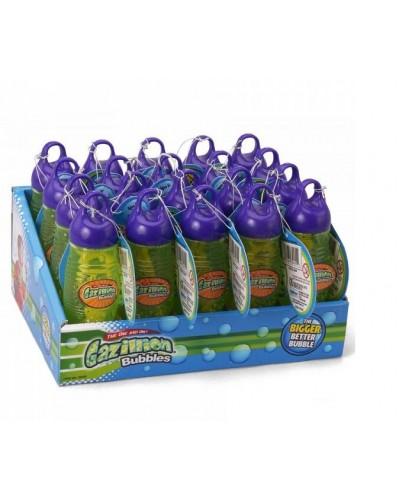 Мыльные пузыри 32455 GAZILLION 115 мл, бутылочка 15 см (20шт), продажа упаковкой, цена за штуку