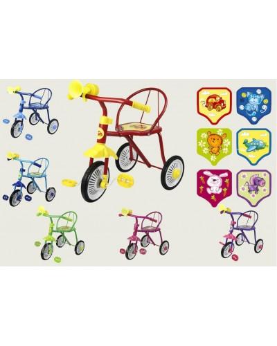 """Велосипед 3-х колес 0202  """"Малятко"""", 6цветов, гвоздик"""