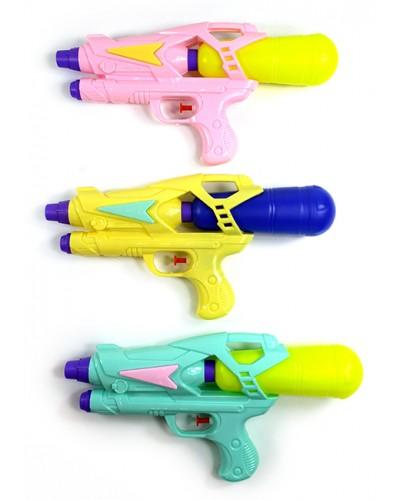 Водный пистолет 005 3 цвета, в пакете 30*16*6см