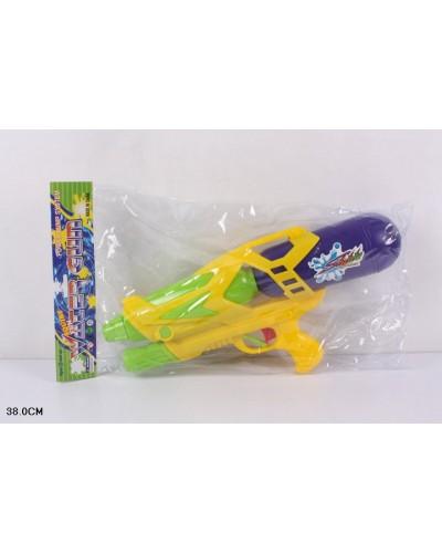 Водный пистолет 7300 (с насосом, в пакете 38см