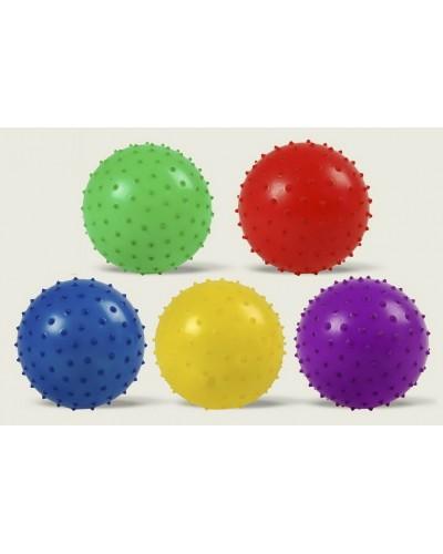 Мяч MB0104 с шипами, резиновый 14см 30гр