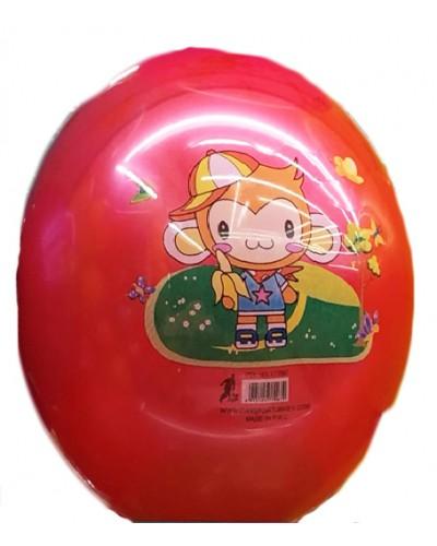 """Мяч резиновый CL12-06 """"Животные"""" 9"""", 60грамм, 4 цвета"""