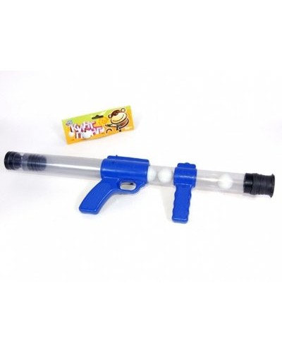 Пистолет 1054  стреляет шариками для пинпонга, в пакете 53см