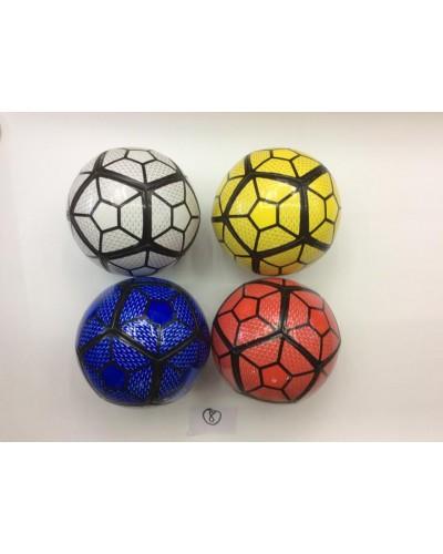 Мяч футбол C24451 PU 4 цвета, 320 грамм