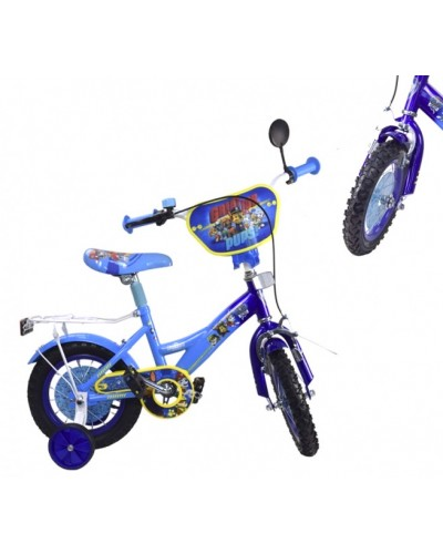 Велосипед 2-х колес 18'' 181822 (1шт) со звонком,зеркалом,руч.тормоз