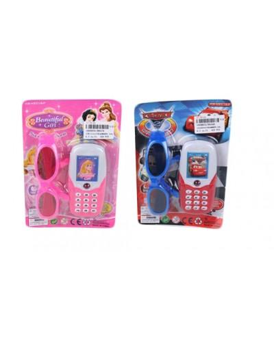 Моб.телефон 88476/96  2 вида, батар., на планшетке 19*13*2,5см