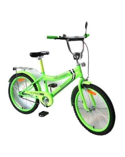 Велосипед 2-х колес 20'' 172036 со звонком, зеркалом, руч.тормоз, без доп.колес