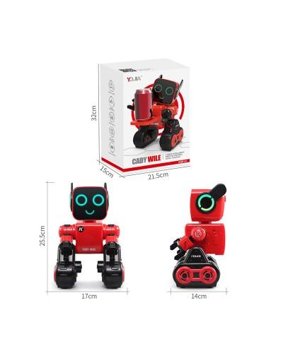 Робот батар. YDJ-K3-YW USB, свет, звук, в кор. 32*21,5*15см