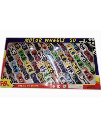 Набор машин металл 92753-50  в коробке