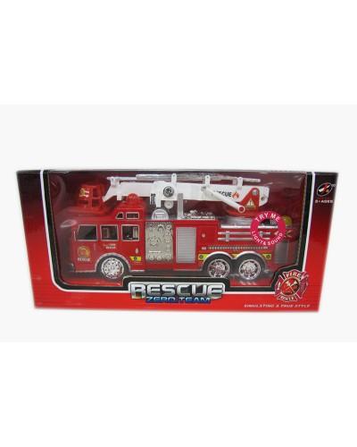 Пожарная машина1911-40 в коробке 30*9.5*14.5см
