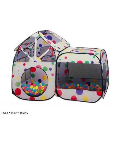 """Палатка 5538-18  """"Волшебный домик"""" (150*85*115), шарики не входят, в сумке"""