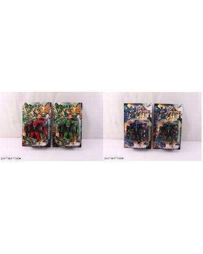 Трансформер HF329-3AB/5AB  2 модели по 2 цвета, на планшетке 23*39*7 см