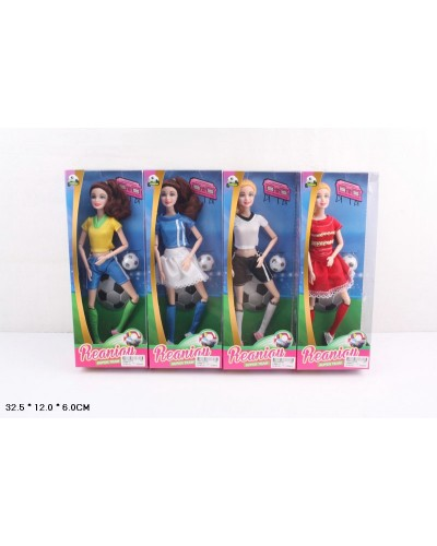 "Кукла типа ""Барби"" CS699-17  мячик в кор.32,5*12*6см"