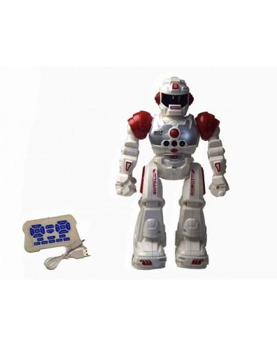 Робот батар. р/у RQ2020B свет, звук, в кор. 12*9*27,3см