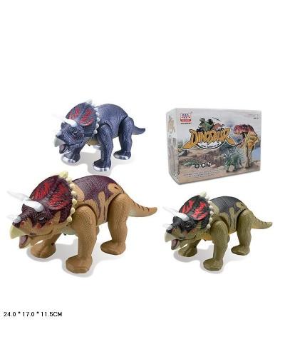 Животные WS5301B  динозавр, звук, ходит, в коробке24*17*11,5см