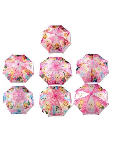 """Зонт """"F"""" CEL-267  8 видов,  в пакете 44 см"""