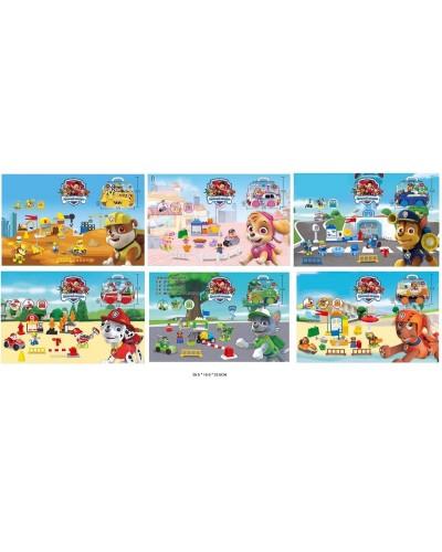 Игровой набор MU3001A-6A фигурки героев+аксесс., 2 вида, в кор.26,5*10*23,5см